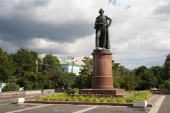 Monument to Alexander Suvorov 21.07.2017 Stock Photography