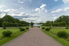 Free Moscow, Russia -June 6, 2016. Regular French Park In Estate Kuskovo Stock Photos - 132937183