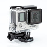 MOSCOW, RUSSIA- june 29, 2015: GoPro Hero 4 Black Edition Royalty Free Stock Photos