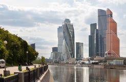 MOSCOW, RUSSIA - JUNE 14, 2016: International Business Center Stock Photos