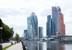 MOSCOW, RUSSIA - JUNE 14, 2016: International Business Center Stock Photo