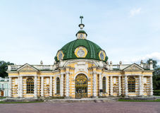 Moscow, Russia - June 10.2016. Pavilion Grotto in Kuskovo estate Stock Images