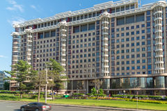 Moscow, Russia -03 June 2016. Residential complex Novy Arbat, 27. Moscow, Russia -03 June 2016. Residential complex a Novy Arbat 27 Stock Image
