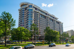 Moscow, Russia -03 June 2016. Residential complex Novy Arbat, 27. Moscow, Russia -03 June 2016. Residential complex a Novy Arbat 27 Royalty Free Stock Photos