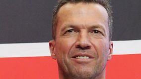 Lothar Matthaus at the presentation of FIFA World Cup Trophy in Russia