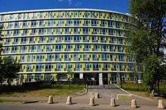 New perinatal cardiology center at the 67th hospital in Moscow royalty free stock photography