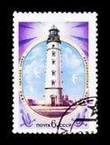 Kherson lighthouse, Black sea, circa 1982 Stock Image
