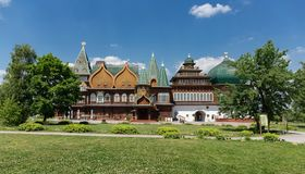 Wooden palace of Tsar Alexei I Mikhailovich in Kolomenskoye, Mos