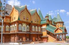MOSCOW, RUSSIA, KOLOMENSKOYE. Moscow. Kolomenskoye. The Palace of Tsar Alexei Mikhailovich Royalty Free Stock Photography