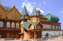 MOSCOW, RUSSIA, KOLOMENSKOYE. Moscow. Kolomenskoye. The Palace of Tsar Alexei Mikhailovich Stock Image