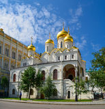 Moscow, Russia, the Kremlin, the Church of the Deposition of Natalia and Gregory, 16th century. Royalty Free Stock Images