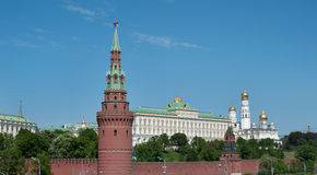 Moscow, Russia. Kremlin wall Stock Photos