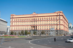 MOSCOW, RUSSIA - 21.09.2015. Lubyanka square Royalty Free Stock Photos