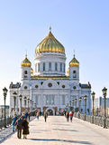 Moscow, Russia - Main Cathedral Stock Image