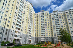 Moscow, Russia - May 11.2016. district number 20 in Zelenograd Stock Image