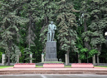 Moscow, Russia - May 28.2015. Monument to Academician Williams in  Moscow Agricultural Academy of Timiryazev. Moscow, Russia - May 28.2015. Monument to Stock Photo