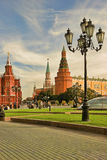 Moscow, Russia - May 24, 2015: The State Historical Museum of Ru Stock Photo