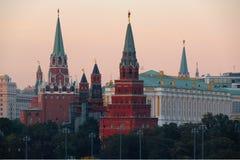 Moscow, Russia, The Moscow Kremlin. Photos September 23, 2017 Royalty Free Stock Photos