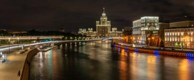 Moscow, Russia, Moskvoretskaya embankment stock images