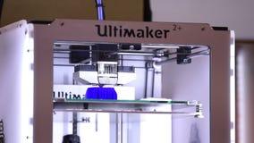 3d printer printing technology stock footage