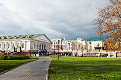 Manege Square Moscow on November 07, 2012 Royalty Free Stock Photography