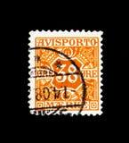 Avisporto, Newspaper Stamps serie, circa 1907 Royalty Free Stock Photography