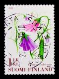 Sweet pea Lathyrus odoratus, Flowers serie, circa 2008 Stock Photos