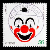 C.E.P.T - Circus, serie, circa 2002. MOSCOW, RUSSIA - OCTOBER 21, 2017: A stamp printed in German Federal Republic shows C.E.P.T - Circus, serie, circa 2002 Stock Photos
