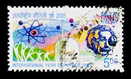 International Year of Physics 2005, Commemorations serie, circa 2005 Stock Images