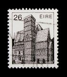 Cormac-Chapel 12th Cty. Rock of Kashel, Irish Architecture Definitives 1982-1990 serie, circa 1982 Stock Photography