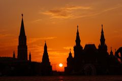 Moscow, Russia, RED SQUARE Royalty Free Stock Photos