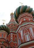 Moscow, Russia, Red Square, Cathedral of Intercession of Most Holy Theotokos on the Moat Stock Photography