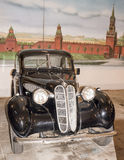 Moscow, Russia -September 04,2016: Car BMW 321 (1940) in Mosfilm Museum Royalty Free Stock Images