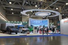 Russian cube trucks Royalty Free Stock Photo