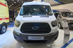Ford Transit van Royalty Free Stock Photography