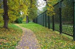 MOSCOW, RUSSIA - September 28, 2014: Kuskovo estate of the Sheremetev family Stock Image