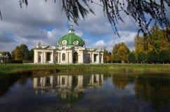 MOSCOW, RUSSIA - September 28, 2014: Kuskovo estate of the Sheremetev family Stock Photo