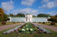 MOSCOW, RUSSIA - September 28, 2014: Kuskovo estate of the Sheremetev family Stock Images
