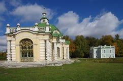MOSCOW, RUSSIA - September 28, 2014: Kuskovo estate of the Sheremetev family Royalty Free Stock Image