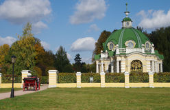 MOSCOW, RUSSIA - September 28, 2014: Kuskovo estate of the Sheremetev family Royalty Free Stock Photography