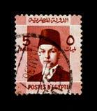 King Farouk 1920-1965 portrait, Egyptian Royalty serie, circa 1937 Stock Photos