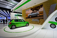 MOSCOW, RUSSIA -  Skoda Concept Royalty Free Stock Photo