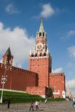 Spasskaya Tower of Moscow Kremlin Royalty Free Stock Photo