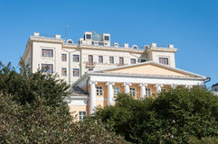 MOSCOW, RUSSIA - 21.09.2015. Special Music School Gnesin. This is one of most prestigious musical institutions in the country. MOSCOW, RUSSIA - 21.09.2015 Royalty Free Stock Image
