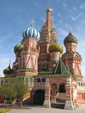 Moscow, Russia, St.Basil's (Pokrovskiy) cathedral Royalty Free Stock Image