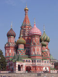 Moscow, Russia, St Basils Cathedral Royalty Free Stock Photo