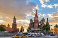 Moscow Russia Stock Photo