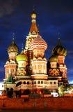 moscow russia tempel Royaltyfri Bild