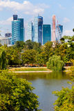 Moscow, Russia, 09.08.2014, view of the new business center Royalty Free Stock Photos