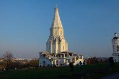 MOSCOW/RUSSIAN federacja: - KWIECIEŃ 12, 2015 - średniowieczny kościół Fotografia Stock